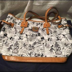 Used Tokyo Disney Dooney comic Mickey tote